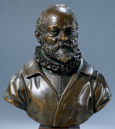 <p>Self-portrait bust of Giambologna.</p><p> Bronze. 1600. Rijksmuseum, Netherlands.</p><p> http://www.frilligallery.com/goto/artist-detail/show/1/giambologna#&gid=1&pid=1</p>