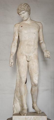 <p><i>Hermes-Antinous.</i></p><p>c. 130 CE. Marble.</p><p>Musei Capitolini, Rome.</p>